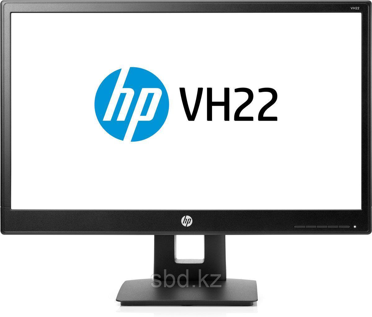 """Монитор 21.5"""" HP VH22, X0N05AA, Black"""