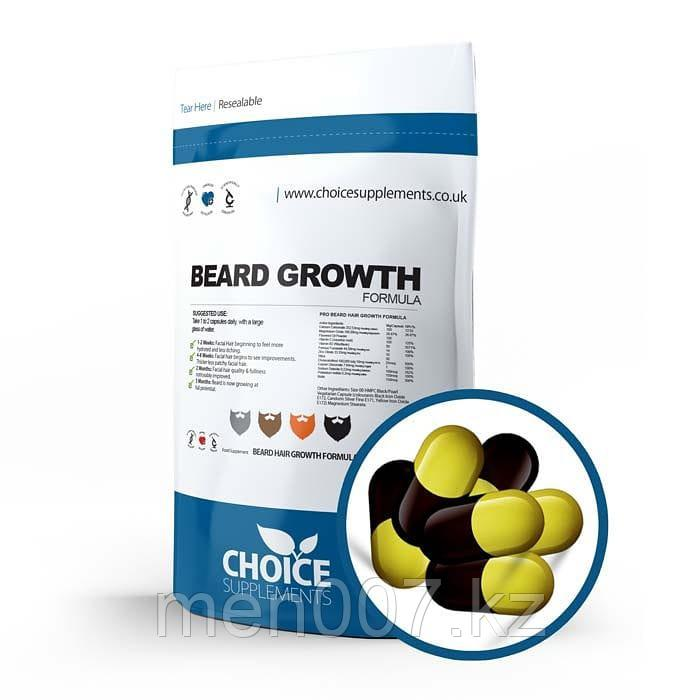 БАД Beard Growth (для роста бороды) (60 таблеток)