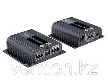 LenKeng LKV372 EDID (удлинитель HDMI, 50м, UTP cat 6/6a/7, EDID, POE, активный, комплект