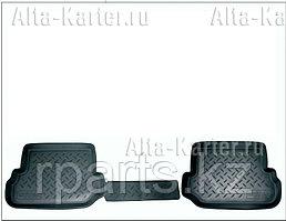 Коврики салона (задняя пара) Nissan Qashqai II T32 2014-