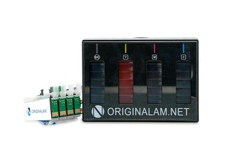 СНПЧ ORIGINALAM.NET для Epson WorkForce WF-7110 (Бесконтактная)