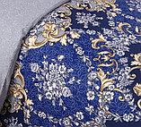 """Постельное белье """"Версаль"""". Перкаль. Двуспальное  Евро-размер, фото 4"""