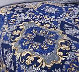 """Постельное белье """"Версаль"""". Перкаль. Двуспальное  Евро-размер, фото 3"""