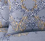 """Постельное белье """"Версаль"""". Перкаль. Двуспальное  Евро-размер, фото 5"""