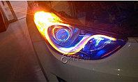 Автомобильные светодиодные полосы  на фары, фото 1