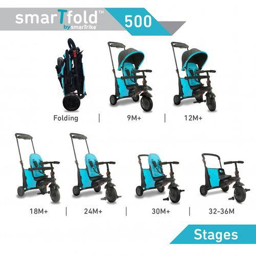 Велосипед Smart Trike 7в1 SmarTfold 500 MELANGE GREY