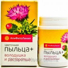 Цветочная пыльца + володушка и расторопша
