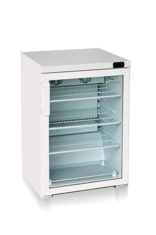 Витринный холодильник шкаф-витрина Бирюса-154DN