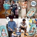 Chicco: Кроватка-стульчик Baby Hug 4-в-1 Aquarelle 1012769, фото 6