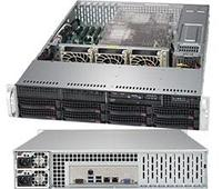Сервер Rack 2U, 2xXeon Scalable LGA3647, 16xDDR4 LRDIMM 2666, 8x3.5HDD, RAID SATA, 2x10Gbe, 2x1000W
