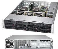 Сервер Rack 2U, 2xXeon Scalable LGA3647, 12xDDR4 LRDIMM 2666, 8x3.5HDD, RAID SATA, 2x1Gbe, 2x1000W
