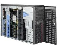 Сервер Tower 4U, 2xXeon Scalable LGA3647, 16xDDR4 LRDIMM 2666, 8x3.5HDD, RAID SATA, 2x10Gbe, 2x2200W