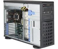 Сервер Tower 4U, 2xXeon Scalable LGA3647, 16xDDR4 LRDIMM 2666, 8x3.5HDD, RAID SATA, 2x10Gbe, 2x1200W