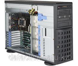 Сервер Tower 4U, 2xXeon Scalable LGA3647, 16xDDR4 LRDIMM 2666, 8x3.5HDD, RAID SATA, 2x10Gbe, 2x1200W