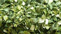 Лук порей сушеный хлопья 5х5 (зеленый) брикет 1кг
