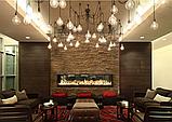 Подсветка помещений лампами Эдисона, оформление лампами Эдисона, оформление кафе, ресторанов, потолков, фото 4