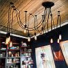 Освещение помещений лампами Эдисона, оформление лампами Эдисона, оформление кафе, ресторанов, потолков, фото 5