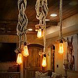 Подсветка помещений лампами Эдисона, оформление лампами Эдисона, оформление кафе, ресторанов, потолков, фото 6