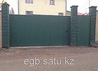 Автоматические сдвижные ворота, фото 1