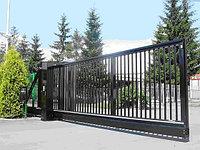 Изготовление откатных ворот, фото 1