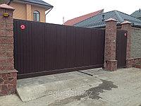 Сдвижные ворота, фото 1
