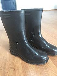 Рабочая обувь, Сапоги резиновые рыбацкие или болотные сапоги