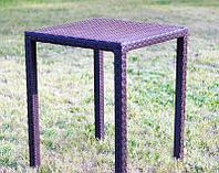 """Обеденный плетёный стол  """"Оптима 4"""""""