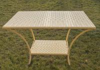"Обеденный плетёный стол  ""Оптима 5"", фото 1"
