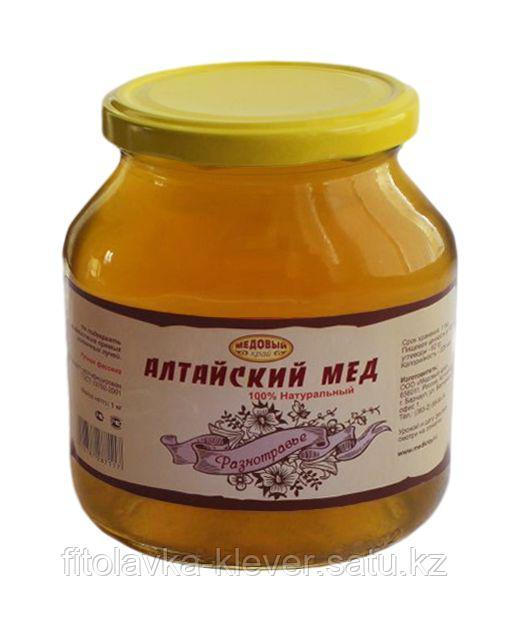 Алтайский мёд разнотравье