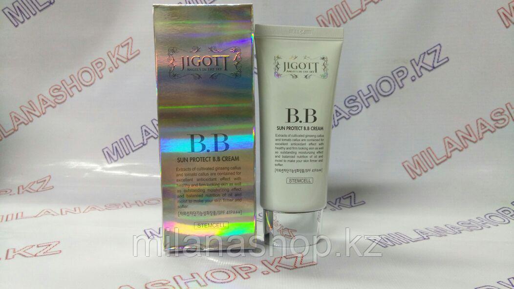 Jigott Sun Protect BB Cream Stemcell -  BB крем с защитным фактором