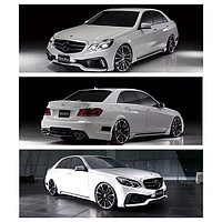 Обвес WALD на Mercedes-Benz E-class W212 РЕСТАЙЛИНГ(реплика)