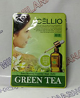 Cellio - Маска для лица с экстрактом зеленого чая