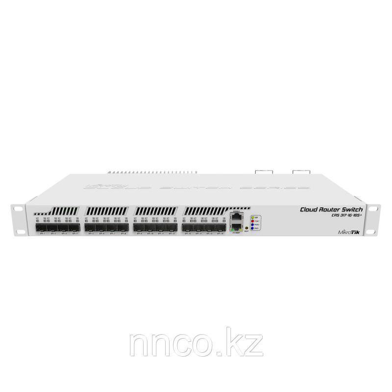 Коммутатор Mikrotik Cloud Router CRS317-1G-16S+RM