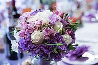 Букет невесты из роз сиреневый