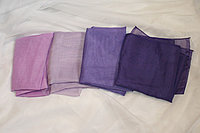 Банты на стулья фиолетовый