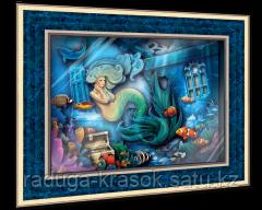 """Объемный постер """"Тайны морских глубин"""""""