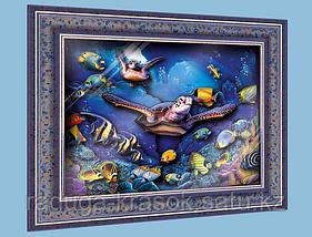 """Объемный постер """"Обитатели кораллового рифа"""""""