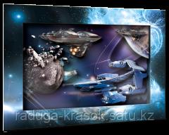 """Объемный постер """"Звездный патруль"""""""