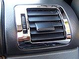 Хромированные накладки на воздухообдувы, на Mercedes ML 163, фото 2