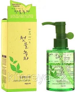 Welcos Green Tea Deep Cleansing Oil - Гидрофильное масло зеленый чай