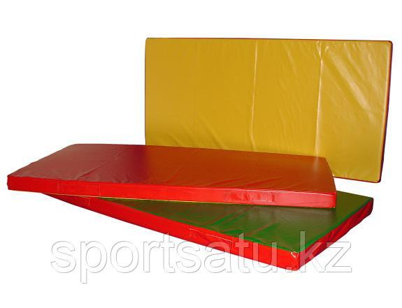 Гимнастические маты 2*1 м толщина 5 см к/з