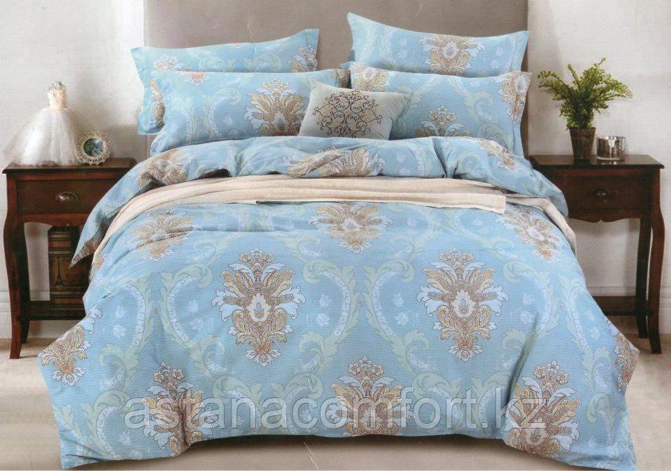 Комплект постельного белья, сатин, 1,5-спальный. Россия