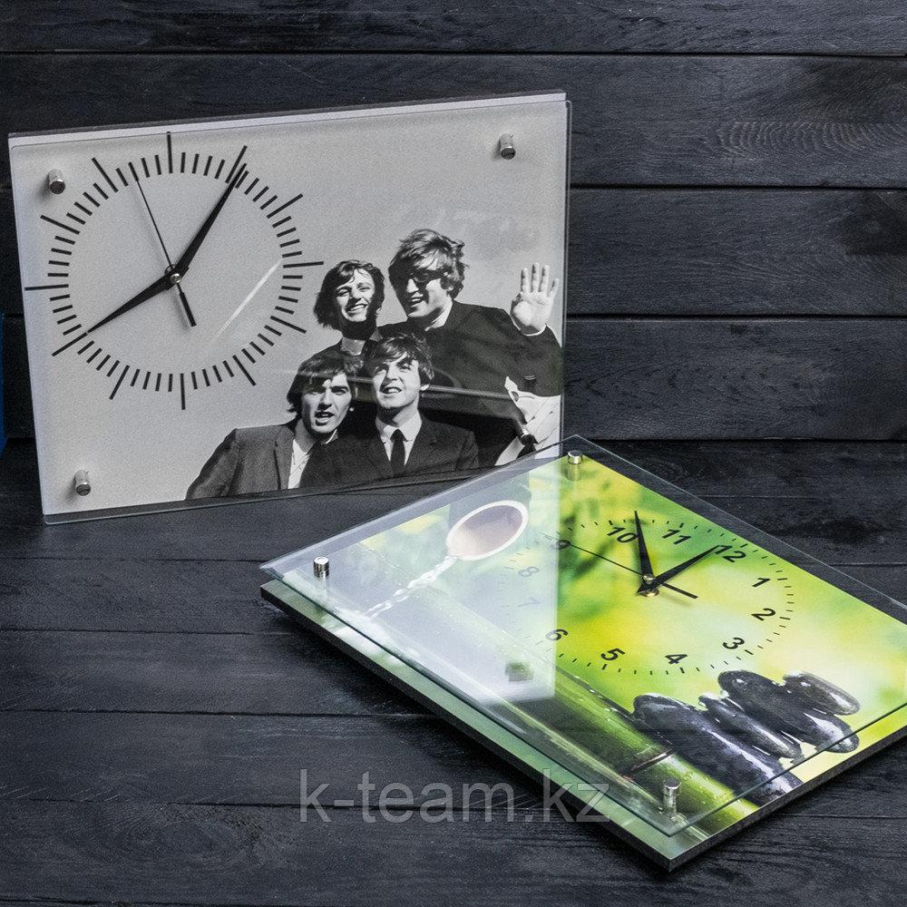 Cувенирные часы с фотографией или логотипом