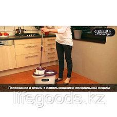 Набор для уборки: ведро с отжимом + швабра, York Prestige 072700, фото 3