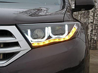 Передние фары на 2011-2013 Type TLZ