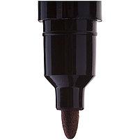 Маркер перманентный двухсторонний черный, пулевидный, 0,5-1мм, фото 3