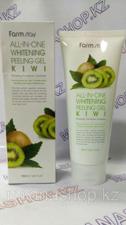 Farm Stay All-In-One Whitening Peeling Gel Cream Kiwi - Пилинг Гель для лица на основе Киви