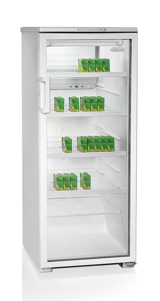 Витринный холодильник шкаф-витрина Бирюса-290