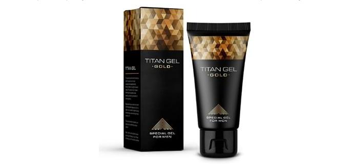 Интимный гель-лубрикант для мужчин Titan Gel GOLD