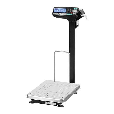 Напольные весы регистраторы ТВ S RP 3 с печатью этикеток НПВ на 15кг, 32кг,60кг, 200кг, фото 2